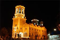 град Свищов катедралата Св. Троица