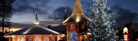 Резиденцията на Дядо Коледа в Напапиири, Лапландия