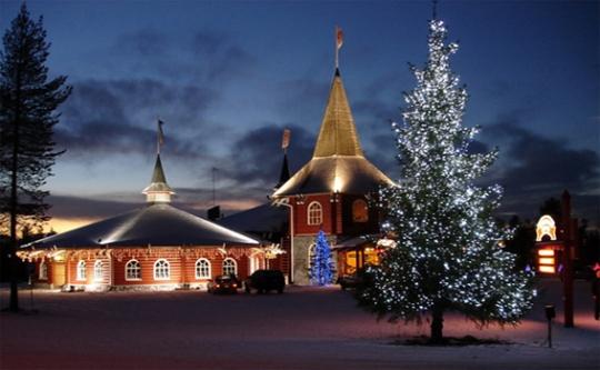 Резиденцията на Дядо Коледа в Напапиири забележителности